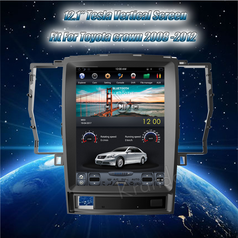 for Toyota Crown car navigation system