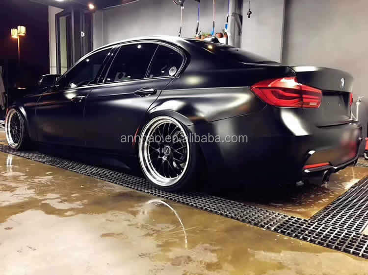 Black Satin Chrome Metallic Matte Car Wrapping Vinyl Foil