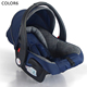 Group 0+ baby car seat cheap japanese baby carrier