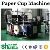 semi-automatic paper cup making and sealing machine with handle cup paper machine 80 pcs/minute 135 to 450 gram