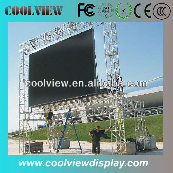 P10 full color outdoor ad. led display
