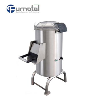 FURNOTEL | Commercial Electric Automatic Water Powered Potato Peeler Machine FFPP-18
