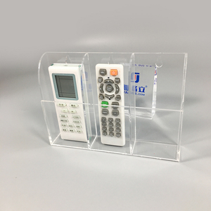 wall mounted clear acrylic remote volume control holder/display stand from China