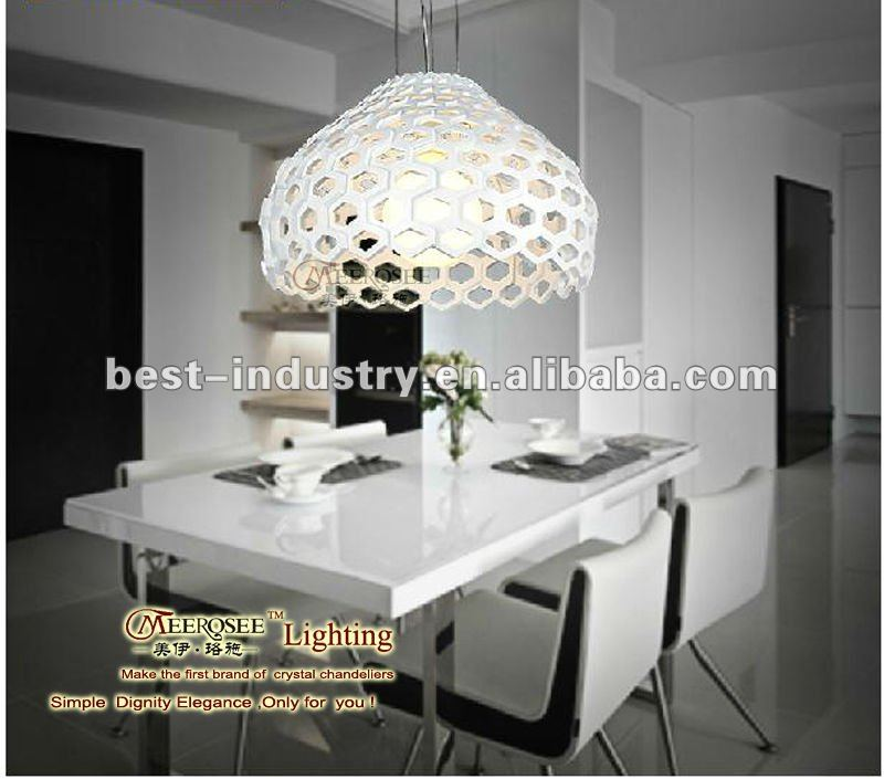 2012 modern dsign white acrylic cheap chandlier for home decor,Meerosee Lighting