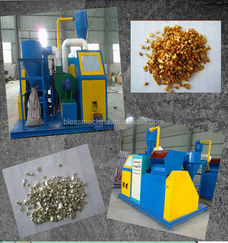 2018 China famous manufacturer waste copper cable wire recycling machine with lifetime technical service