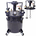 5 Gallon (20 Liters) Spray Paint Pressure Pot Tank with Air Powered Mixing Agitator