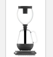 Borosilicate glass hot sales syphon coffee maker glass coffee & tea make