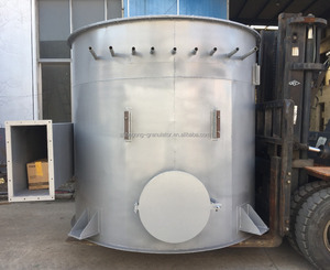 Fabric bag pulse dust collector