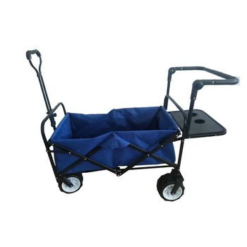 100KG Folding Hand Cart Garden Wagon Trolley Pull Along Festival Camping