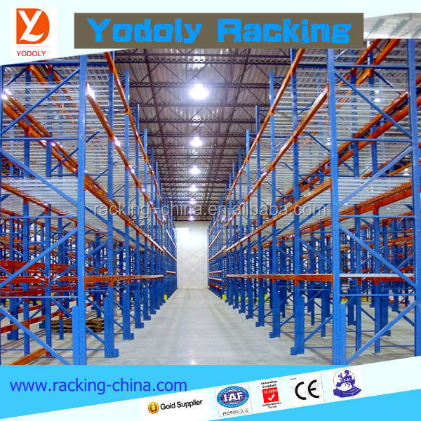 CE corrosion protection hot sale high loading capacity assembled dexion pallet racking
