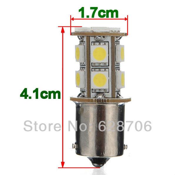 10 шт. 1156 BA15S 7506 7527 13 из светодиодов 5050 СМД хвост сигнала лампы белого света лампы