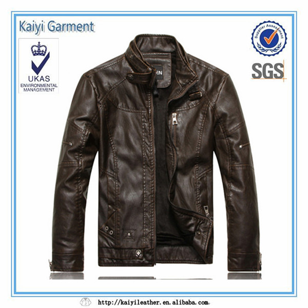 2017 fashion winter man wear slim fit ropa hombre for men leather jackets