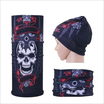 Qetesh Wholesale Sublimation Multifunctional Custom Seamless Bandana