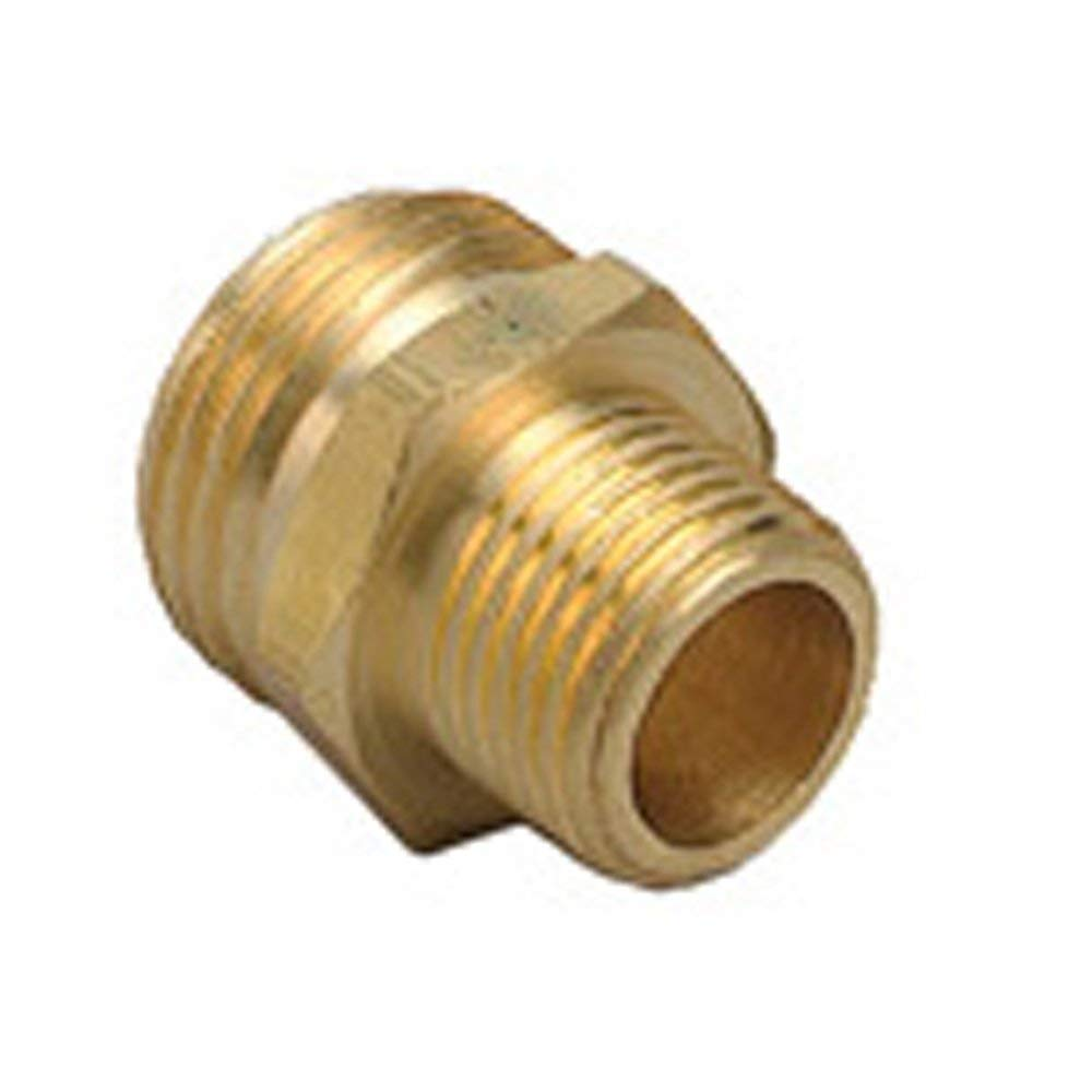 Get Quotations · 5 Pack   Orbit Brass Hose To Pipe Adapter | 3/4 Inch Male  Hose