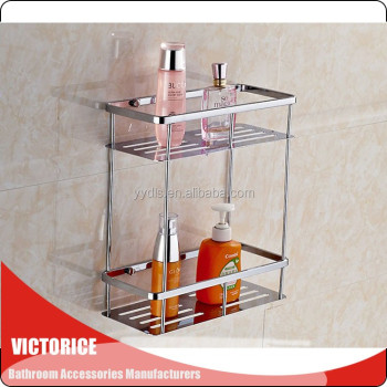 3180 Bathroom Shampoo Rack Stainless Steel Shelf