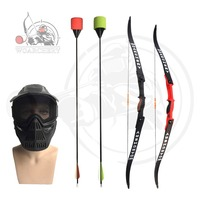 Combat archery nice recurve bow with arrow tag and low draw weight bows