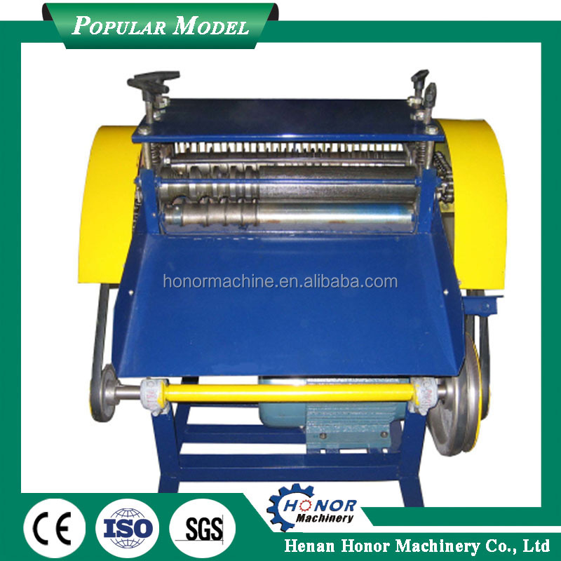 High Speed Wire Stripping Machine For Waste Copper Wires Cable