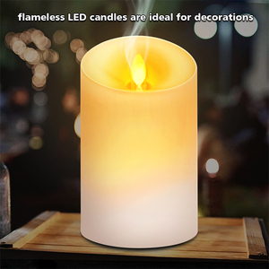 Portable candle shape aroma machine air humidifier 120 ml essential oil diffuser