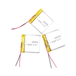 lithium battery 5v 500mah rechargeable batteries bluetooth speaker 3.7v 500mah lipo battery