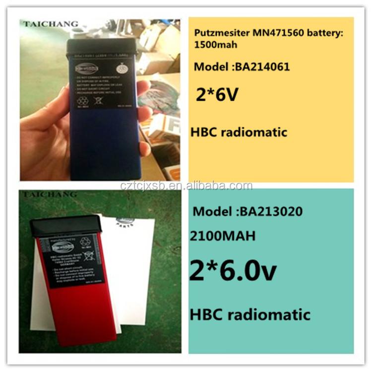 คุณภาพสูงคอนกรีตปั๊ม 6 แขน HBC 727 รีโมทคอนโทรลจอแสดงผล LCD