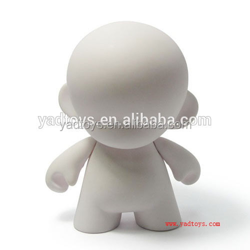 Cartoon Toy Style and high quality PVC Material blank bearbricks