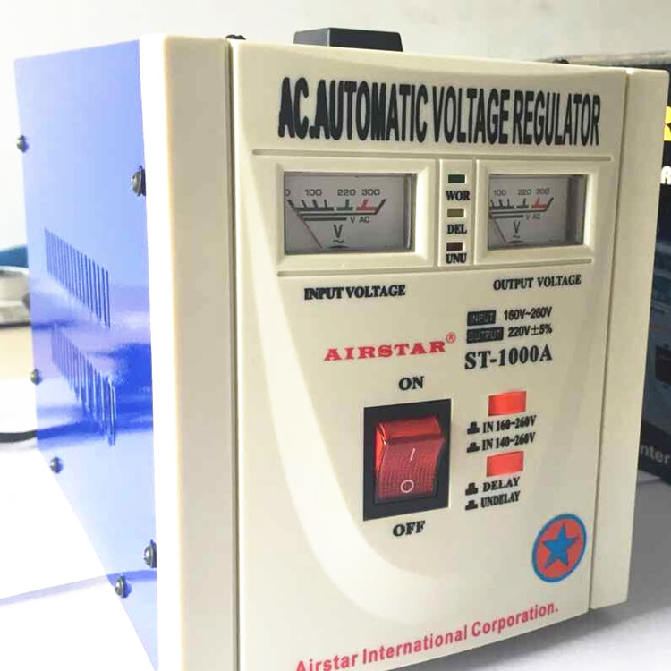 1000VA AC220V Home Use Automativ Voltage Regulator Stabilizer