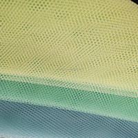 100% knit polyester magnetic windows curtain screen mosquito net fabric factory