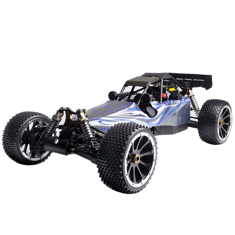 Grosir 2.4G 1/5 RC Gas Powered 4WD Buggy 30CC engine dengan metal gear box HSP 94054S rc bugy car for sale