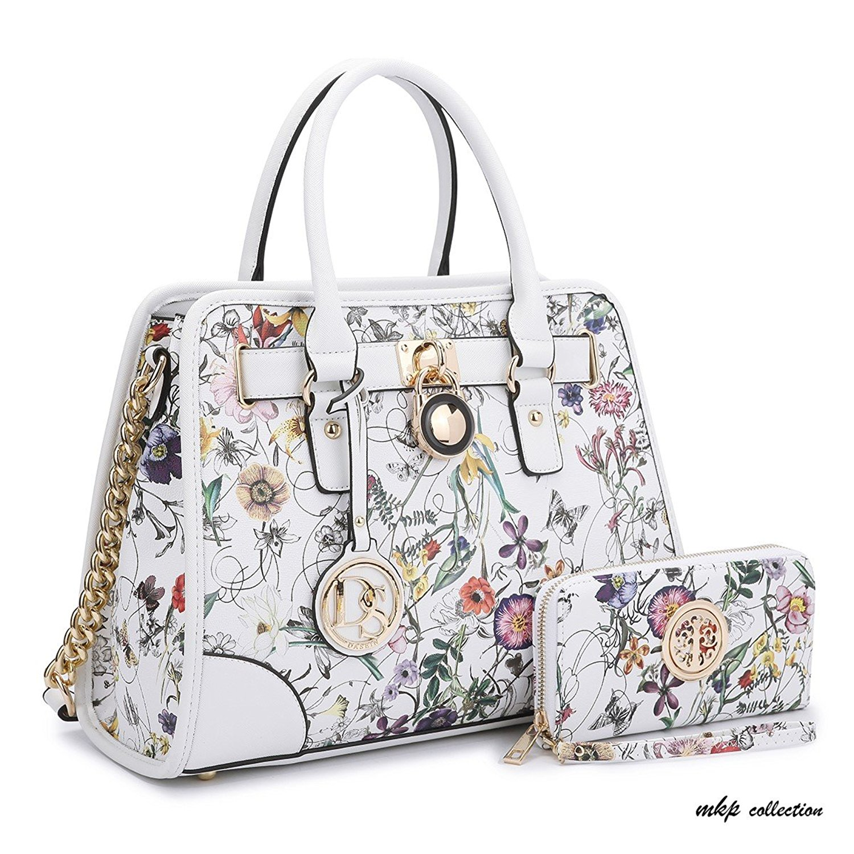 Get Quotations · MKP Collection Fashion Woman Handbag and Wallet set~Beautiful  Tote~Designer Satchel~Fashion c88aec9dd7