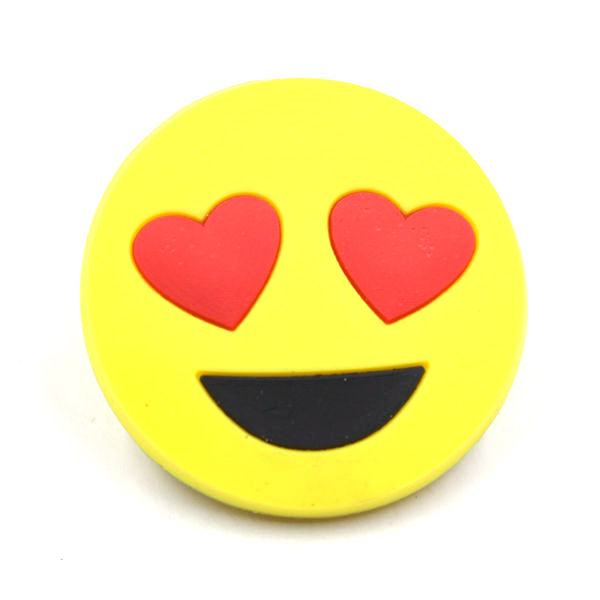 Hot Selling Popular Lovely PVC Emoji Magnetic <strong>Clips</strong>