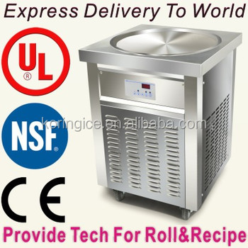 Kolice factory direct price thai frying ice cream maker machine parts