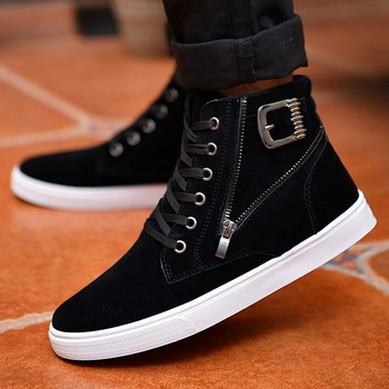 65571011f82 zm22993a wholesale china high neck shoes for men 2017 fashion casual shoes,  View 2017 men fashion casual shoes, Other Product Details from Hefei ...