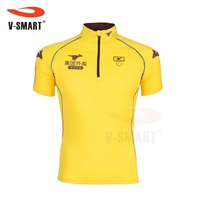 AFP677 Microfiber Breathable Quick Dry Delivery Man Uniform Polo Shirt Custom Design