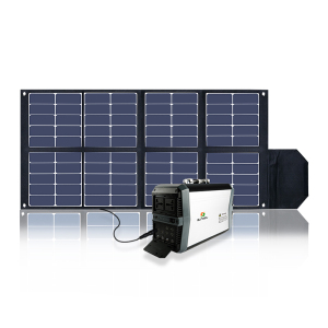 China manufacturer 110v-240v AC output portable solar generator 500w