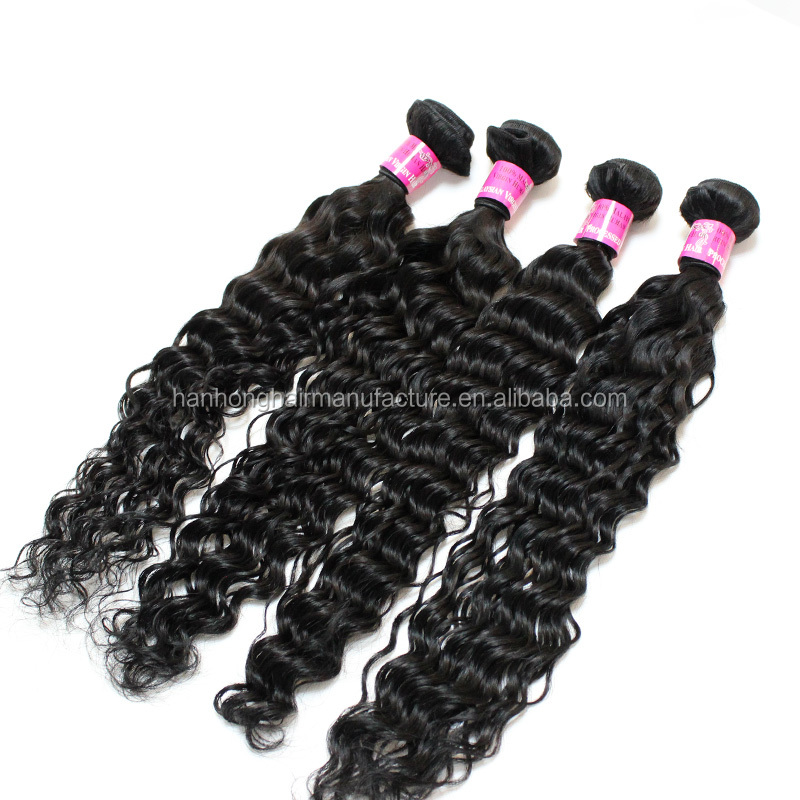 Dropshipping virgin human hair deep wave bundles wholesale raw indian hair wholesale