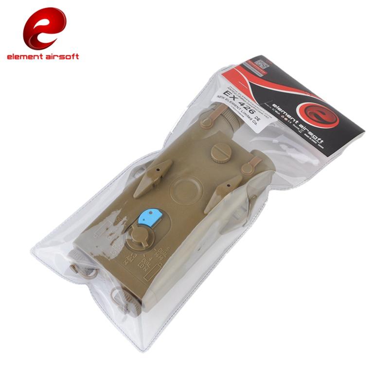 DE EX426-DE Red laser Element AN//PEQ-2 Battery Case