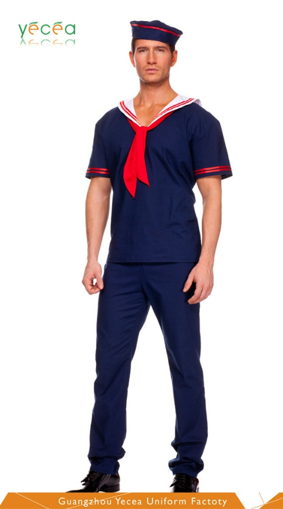 2016 latest Rip-stop Royal Classical 100%cotton Anti-Static Navy Marine Army uniform