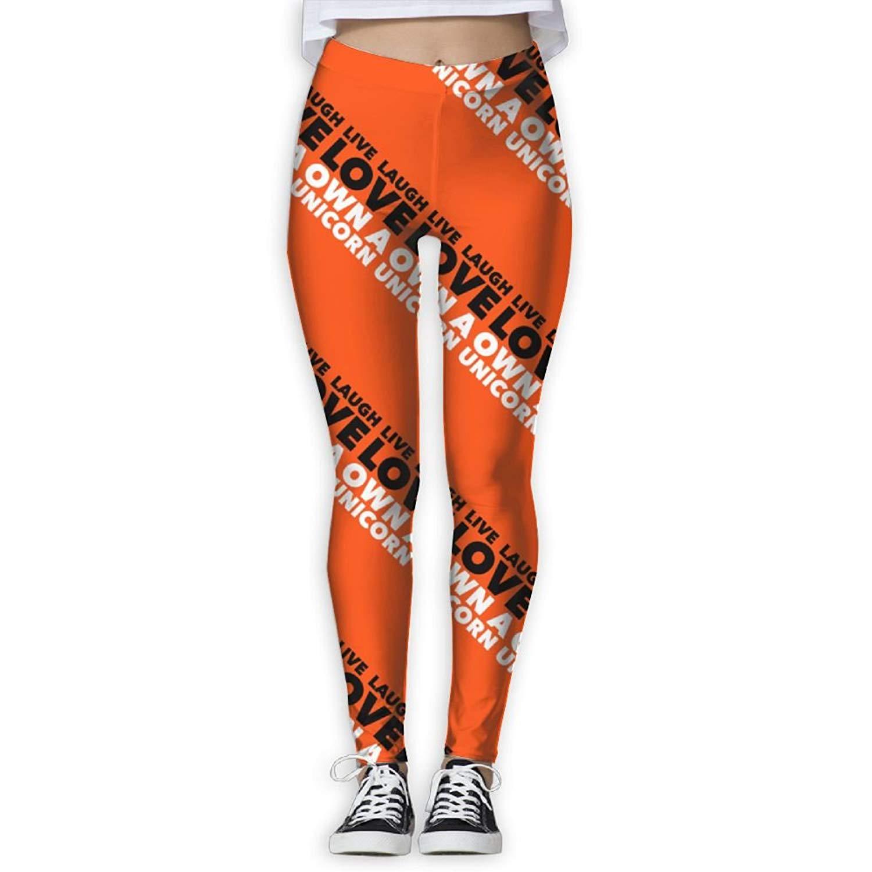 374cdc886c Get Quotations · Virgo Unicorn Animal Stretchy Compression Pants/Yoga Pants  Panel Leggings Women Girl Drawstring