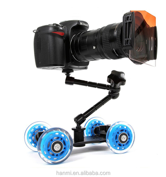 Camera Slider ,Camera Track Car for DSLR Camera