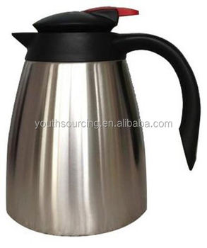 High-end Pyrex Glass Tea/Coffee pots With Strainer Factory Supply