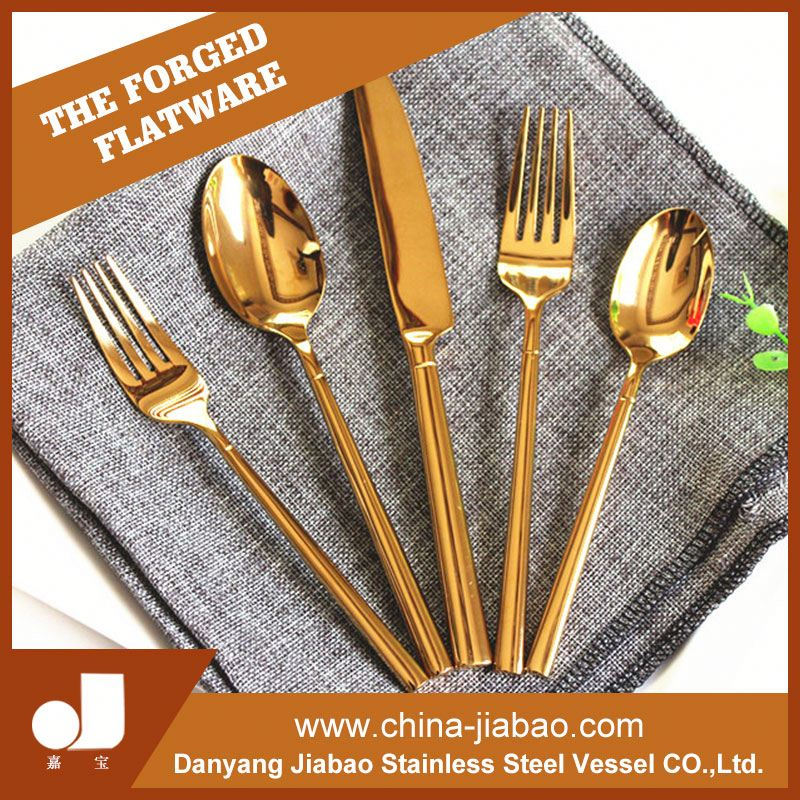 18/10 OEM WMF wholesale used restaurant stainless china bulk gold copper flatware