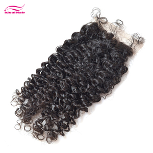 Natural cheap virgin raw brazilian hair swiss lace closure,human hair lace frontals piece with baby hair,curly hair with closure