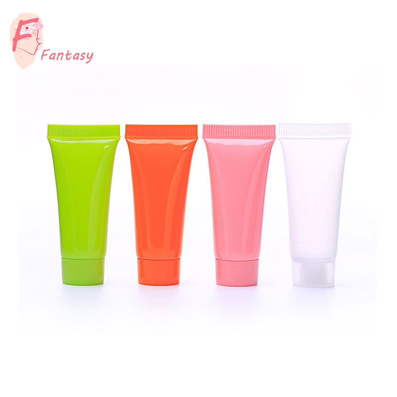 factory quality white or clear frosted empty plastic tubes in inventory small MOQ 10ml 20ml 30ml