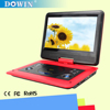 11.6 Inch Swivel Screen Portable DVD/CD/MP3 Player With 5 Hour Built-In Rechargeable Battery, USB/SD Card Reader, AC/DC Adapter