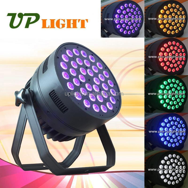 Hot new products for 2015 36*12w rgbwa uv 6in1 zoom led par zooming with washing