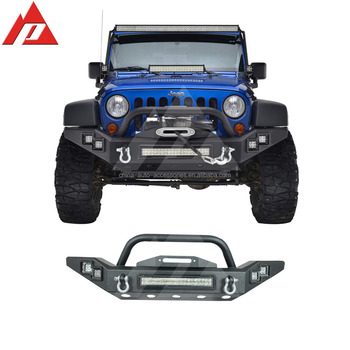 07 16 Jeep Wrangler JK LED Power Front Bumper Auto Bumper Made In China