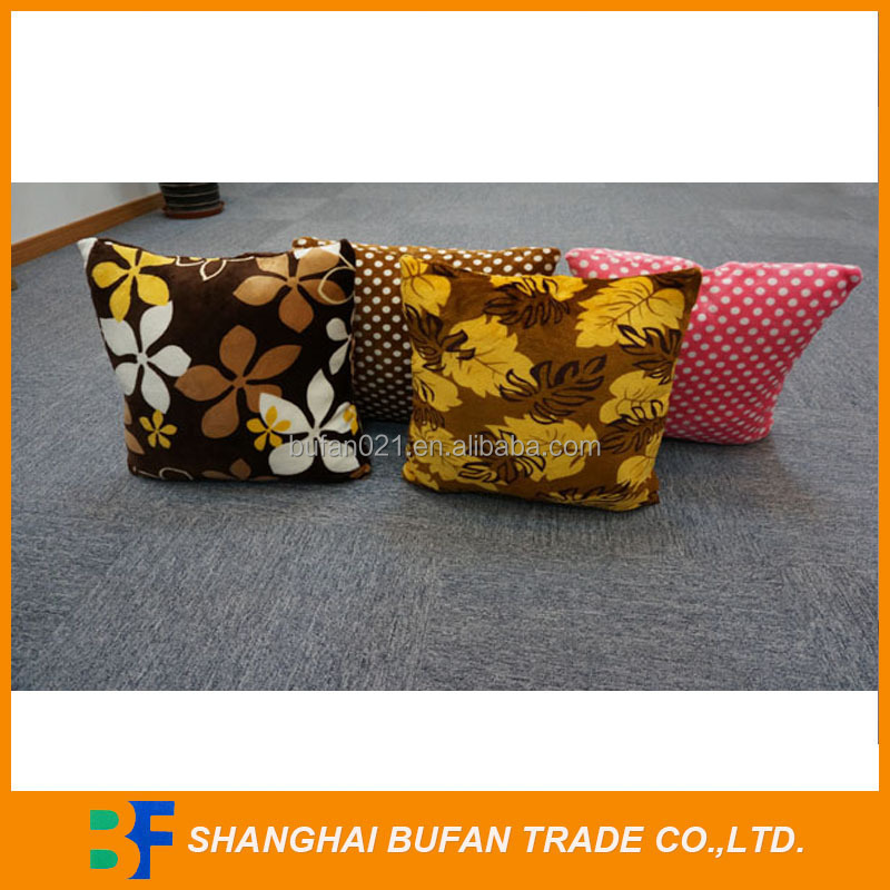 Natural style fashionable best square car back cushion