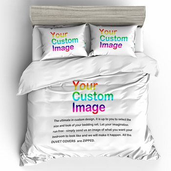 Submit Any Artwork, Design, Picture China factory 3D Digital Printing Custom Bedding Set