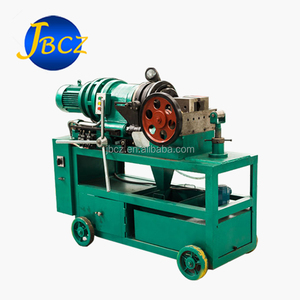Hot selling standard steel bar rebar rib peeling parallel thread rolling machine manufactured in china with high quality