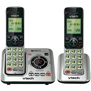VTEVTCS66292 - VTECH VTCS6629-2 DECT 6.0 Expandable Speakerphone with Caller ID (2-Handset System)